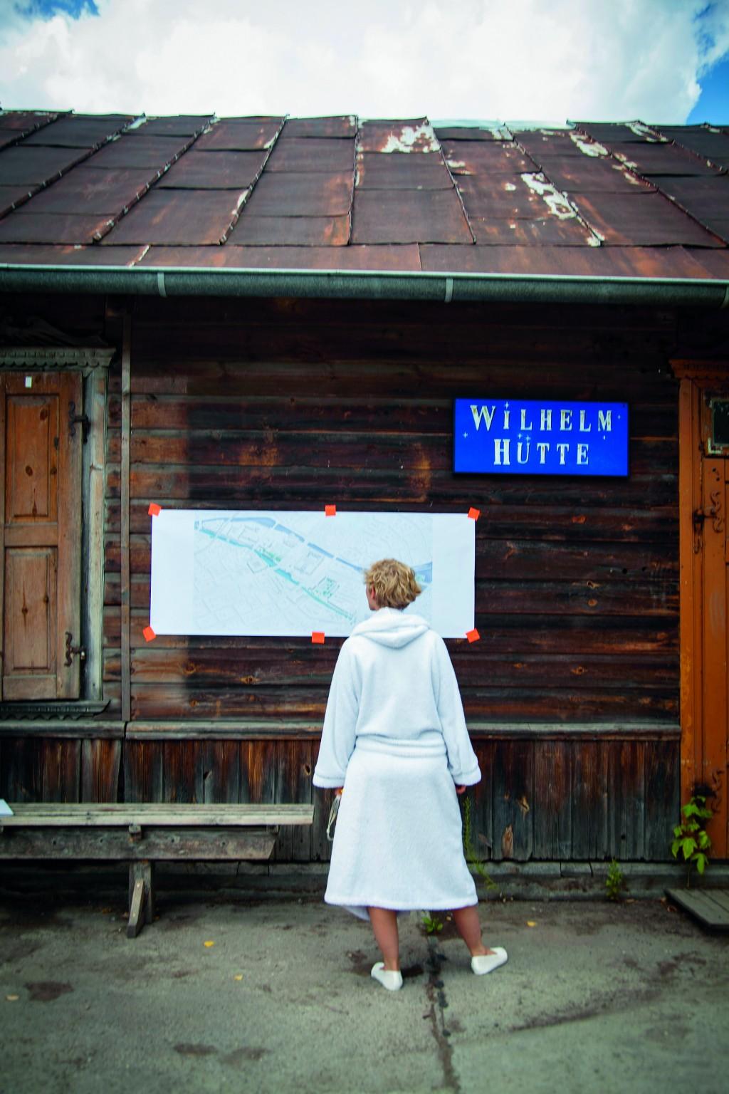 Teilnehmerin beim 2. Berliner Flussbad-Pokal cc 2016 Annette Hauschild / OSTKREUZ